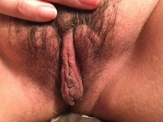 Oh yes. I wanna spread those lips, give your clit a good licking, then slide my hard cock inside and fuck you real good