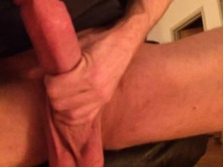 Dick so full of cum