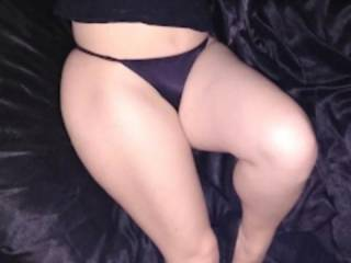 Come kiss on my pussy through my tight little satin thongs.