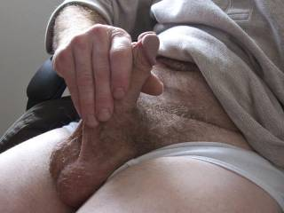 Beautiful hairy cock and balls!!!