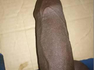 Uncut black cock.
