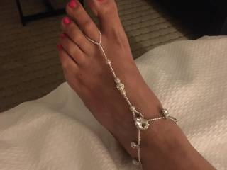 She got these to turn me on during a foot job