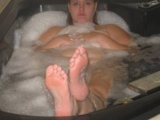 once again he did it... more of you lovely feet!!!!