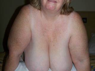 I'd luv to put my cock between your big tits and cum all over them. I'll be in the UK in Sept and would like to hook up with you if you're interested - contact me at ...