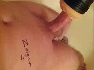 nice! love fleshlight toys too! wish we couldshare! do you?