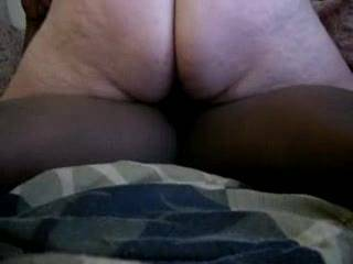 Oh yes the only way to with a hot slut white wife bare back and fill that sluty pussy full of cum mmmmmmmmm she got a nice big white ass too made for Black cock