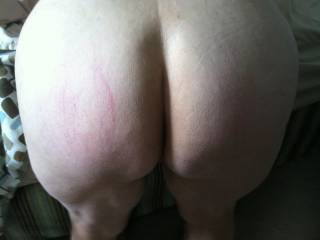 She loves to have her ass spanked