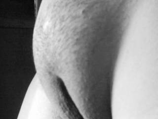 Mmmmm.......love the mound, thick lips...feel great around my cock. Would lick and suck that smooth pussy till you begged me to stop