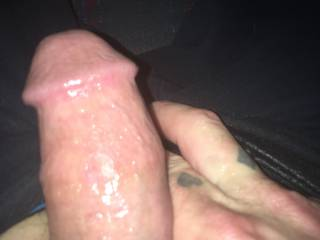 Just waiting to be sucked by my wife