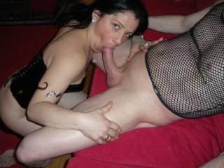 FUCK that looks HOT!!!!NICE Cock and Fuckin HOT Woman on the end of it...Grrrrrrrrrrrrrrr!!