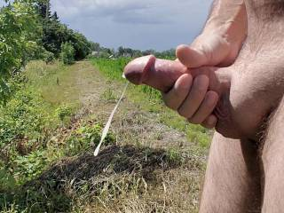 Being naked outdoors gets me so horny. I just came and came and came...