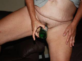 wife big tits nipples saggers hairy bottle pussy