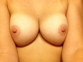 You could suck me off and when I'm ready to cum pull your mouth off my cock and aim it where you want while you stroke it until I shoot my cum on you