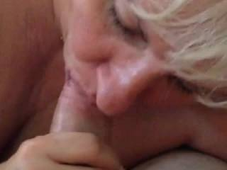i like the way you suck his cock,,,would you suck my cock like tht and let me cum on your breasts