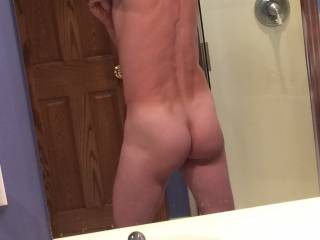 He does have a cute little ass doesn't he