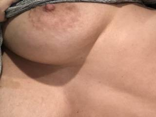 Who wants to fuck my titties?