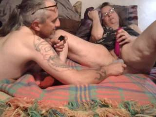 licking sucking fingering and toying wifes pussy