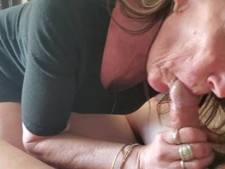This lady just loves sucking my cock