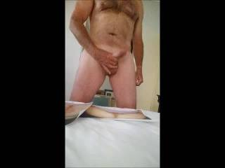 Cum Tribute UniKognite, Nice big load for her wet pussy.