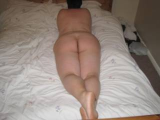 mmmm sexy,just spread those cheeks and let my tongue probe that sexy ass x