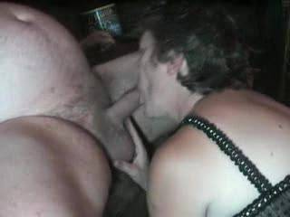 Absolutely love the way she deep throats his cock. Would love to blow a load down her throat just as she chows down. This woman is an expect cocksucker. Would love to see more...please
