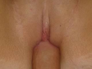 Mmmmm.......nice tight pussy....love to slide my cock deep inside her