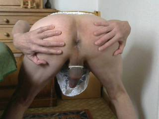 Smooth maid ass cunt ready to be served and devoured / savoured spanked