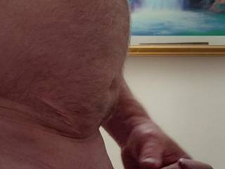 Another picture of my 56 year old body and cock.