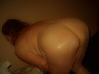 Wet, Bent over, and ready to fuck Which hole will you choose?