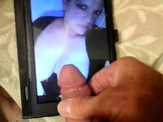 Requested cum tribute video to SheLoveTributes.