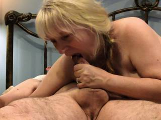 I love cock! This married woman has a voracious appetite for cock in her mouth. And lucky for you, I swallow. My newest video will show you how I plan to get every drop of your love juice.