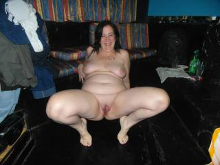 My sweet BBW wife Paula spreading and showing her smooth, shaved, wet pussy for everyone to enjoy. Wouldn't you fuck her?