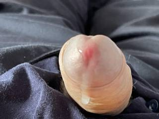 What would you like to do to my cock with its pre cum