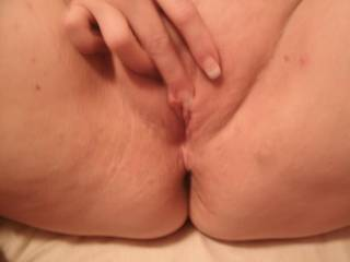 would you like to rub my cum in? your pussy is so beautiful!!!
