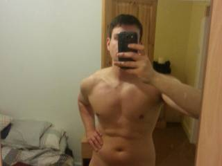 Whats not to like? Huge dick, Great body! yummy!