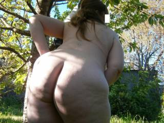 Love to find you bare ass in the woods