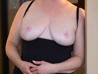 Very sexy with your beautiful tits exposed mmm
