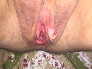 I would love to add lots of my cum deep inside you sexy while you cum all over my thick juicy cock also...