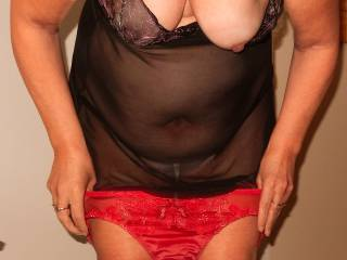 Hot lingerie and sexy breasts. You know I have been a huge fan of hers and will always be. Always happy to see new pictures. XXX