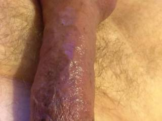 Got adventurous, pumped my cock while wearing a penis plug and cock ring. Look out bloated my cock head is.  Was super horny thanks to Zoig.