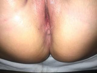 Another satisfied pussy full of cum