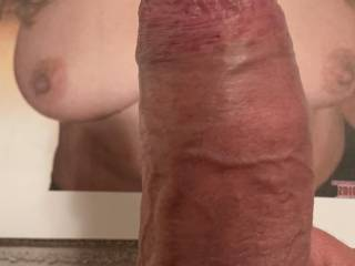 Do you think my cock looks good on MyLoma's gorgeous tits?
