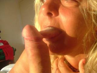my wife lick and i fuck she doggie style
