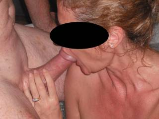 your hub has just got to LOVE watching you sucking other cocks!