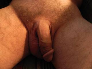 Freshly shaved cock