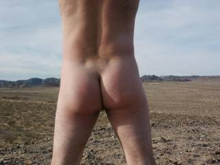 Love being naked outdoors