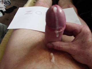I want to suck it and then I'd like to ride it...but mostly I want to suck you off and enjoy the taste of your hot cock cream.  It looks so delicious. I enjoy watching you get off.    MILF K