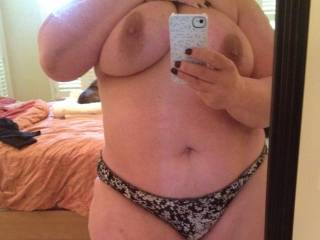All i can say is WOW you are incredibly sexy there is nothing hotter then a thick woman with an incredible body and a beautiful set of tits