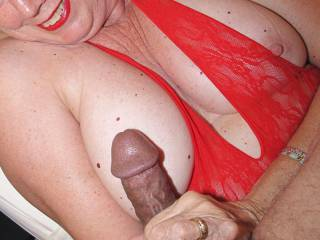 I want to smear my precum on your nipples, then lick them clean.