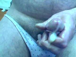 OMG!! What a load!! Would love to have had that...all  over my face, and lick and suck you clean again afterwards....yummy....x